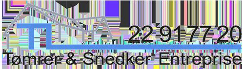 TL Tømrer  & Snedker Entreprise Logo